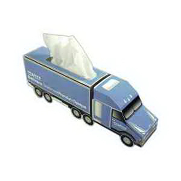 Item #TP020 Semi Truck Shaped Tissue Box