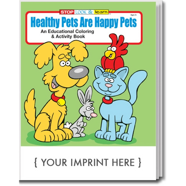 Item #0465 Healthy Pets are Happy Pets Coloring and Activity Book