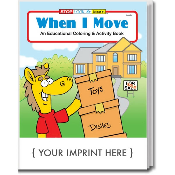 Item #0466 When I Move Coloring and Activity Book