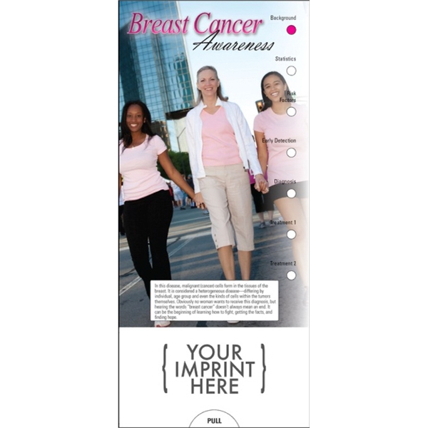 Item #PG-1035 Breast Cancer Awareness Slide Chart