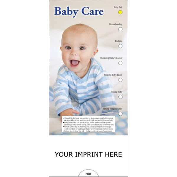 Item #PG-1140 Baby Care Slide Chart