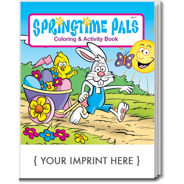 Item #0485 Springtime Pals Coloring and Activity Book