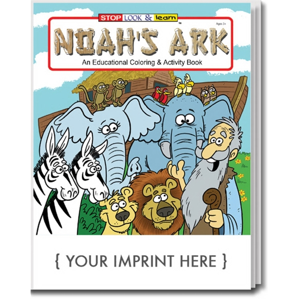 Item #0491 Noah's Ark Coloring And Activity Book