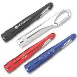 Item #KL0425 Aluminum Carabiner LED Light