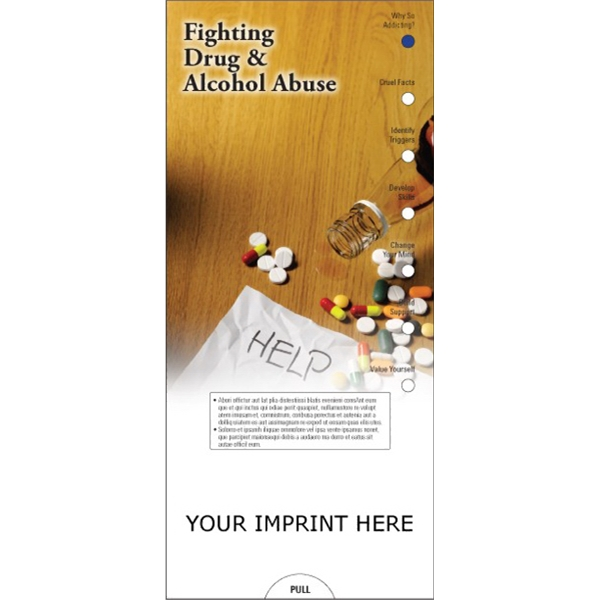 Item #PG-1085 Fighting Drug and Alcohol Abuse Slide Chart
