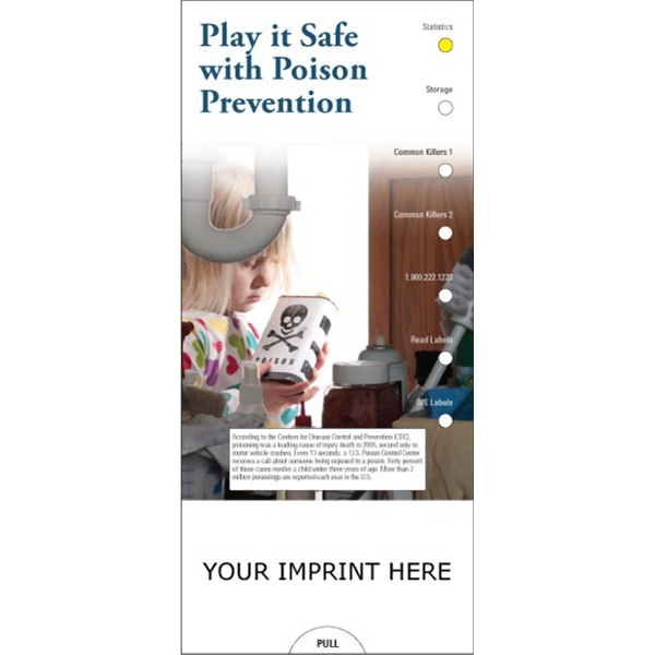 Item #PG-1195 Play it Safe with Poison Prevention Slide Chart