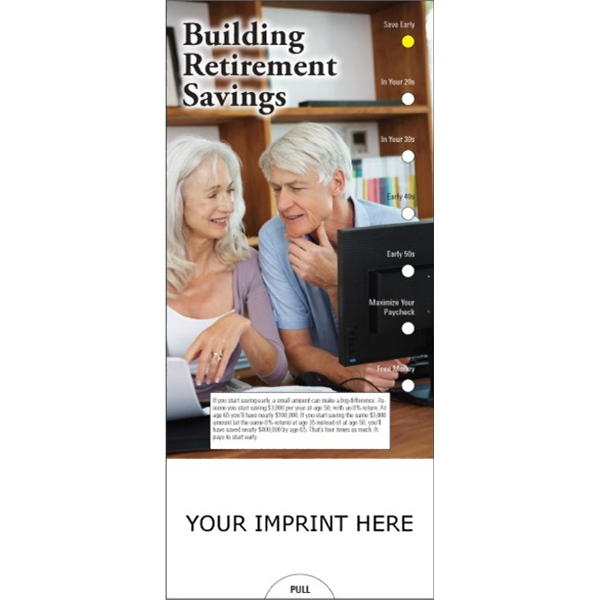Item #PG-1210 Building Retirement Savings Slide Chart