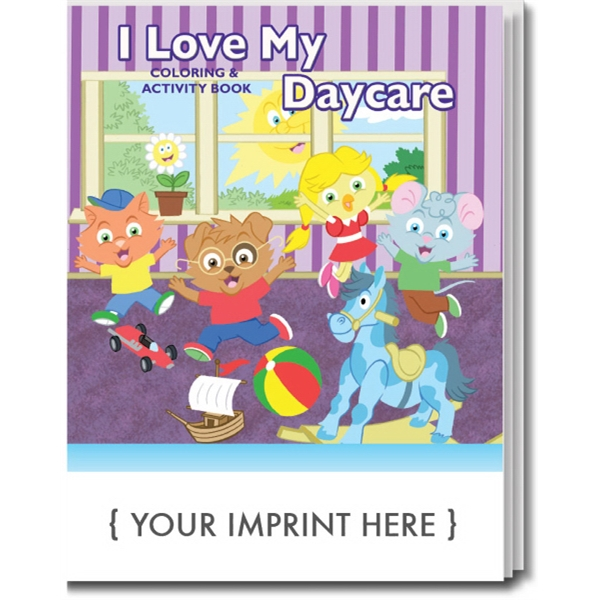Item #0597 I Love My Daycare Coloring Book