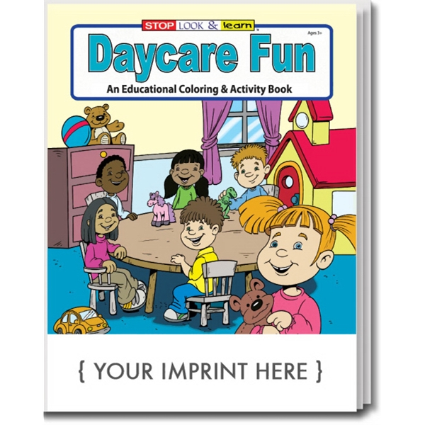 Item #0599 Daycare Fun Coloring and Activity Book