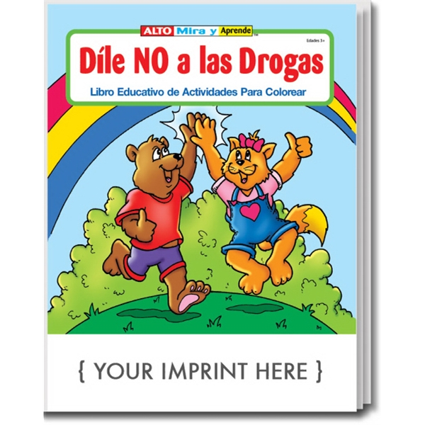 Item #1405 Stay Drug Free Spanish Coloring and Activity Book