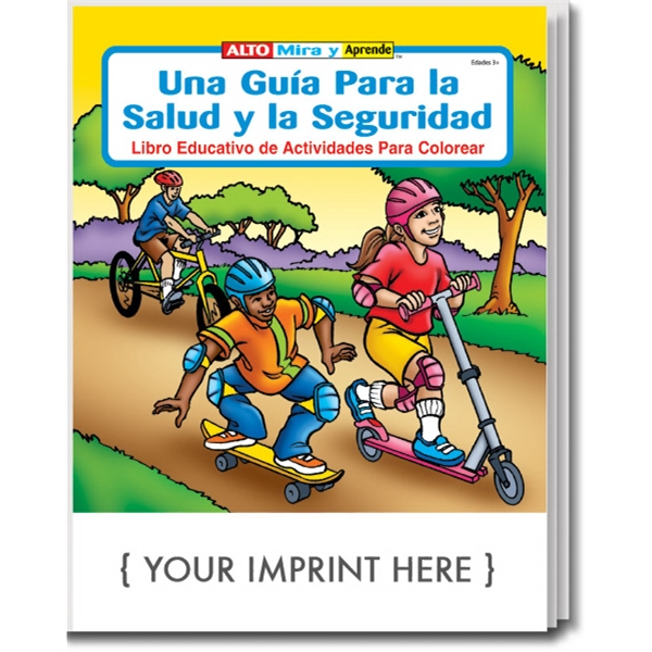 Item #1410 A Guide to Health & Safety Spanish Coloring & Activity Book