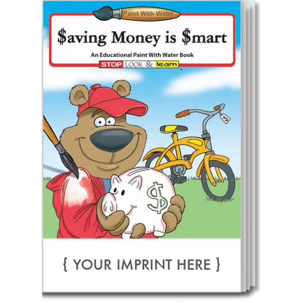Item #1840 Saving Money Is Smart Paint With Water Book