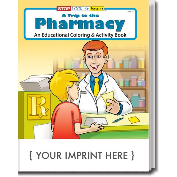 Item #0411 A Trip to the Pharmacy Coloring Book