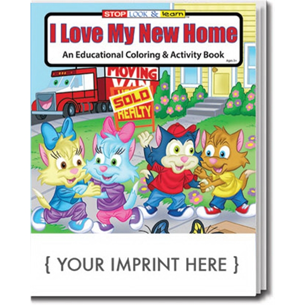 Item #0467 I Love My New Home Coloring Book