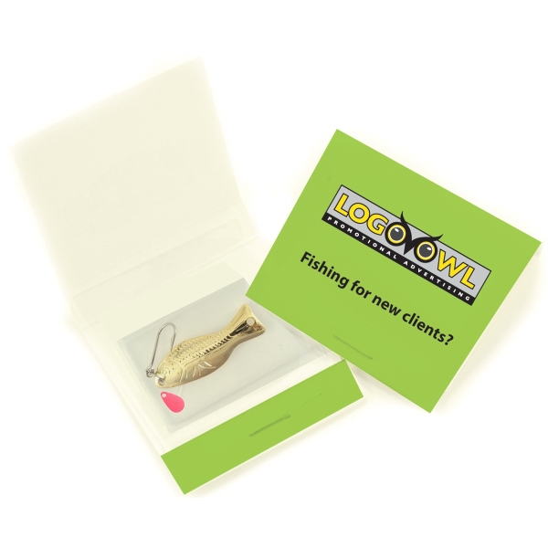 Item #046 Premium Ice Fishing Lure Matchbook