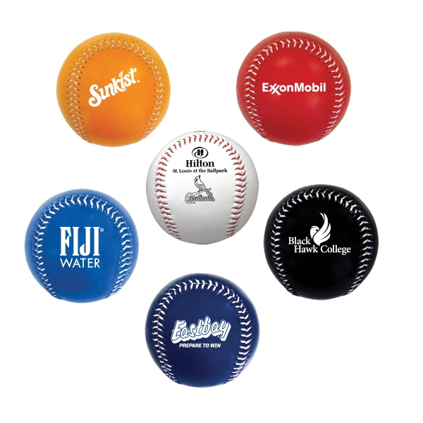 Item #BASEBALL E937 Official Size Baseball In Fashionable & Popular Colors