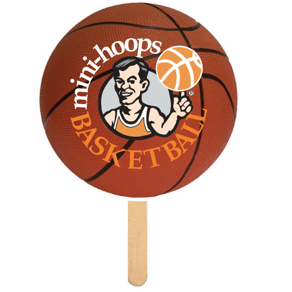 Item #BASKETBALL-FAN Basketball Shaped Fan