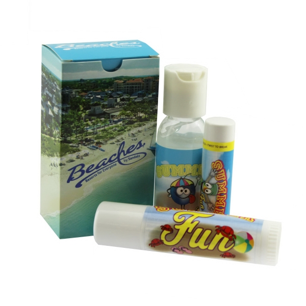 Item #SUNCARE-KIT Suncare Kit w/ SPF15 Lip Balm and SPF30 Sunscreen