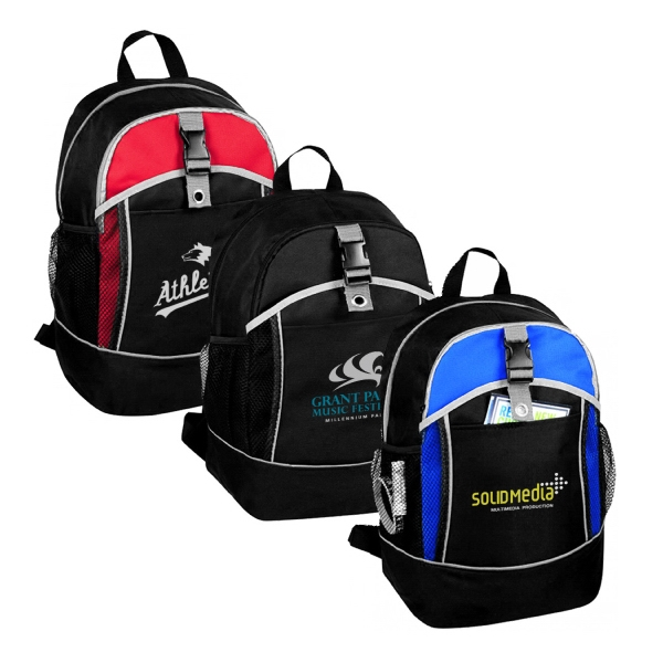 Item #B-8463 Poly School Backpack