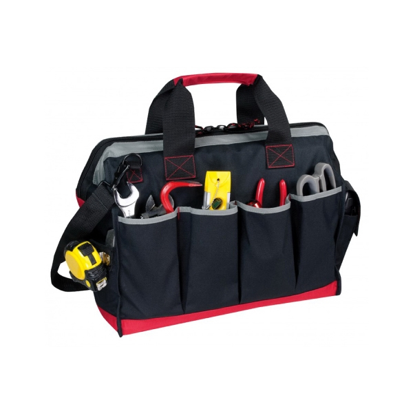 Item #B-8840 Deluxe Poly Tool Bag with Shoulder Strap