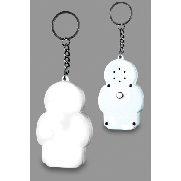 Item #181401 Sound Key Chain People