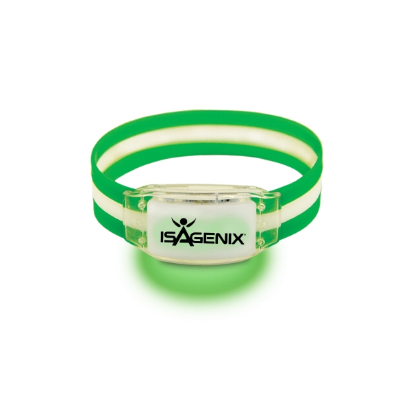 Item #4119 series Triband LED Bracelet