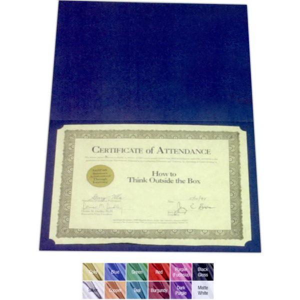 Item #DC611Rx-F Certificate Holders - Leatherette
