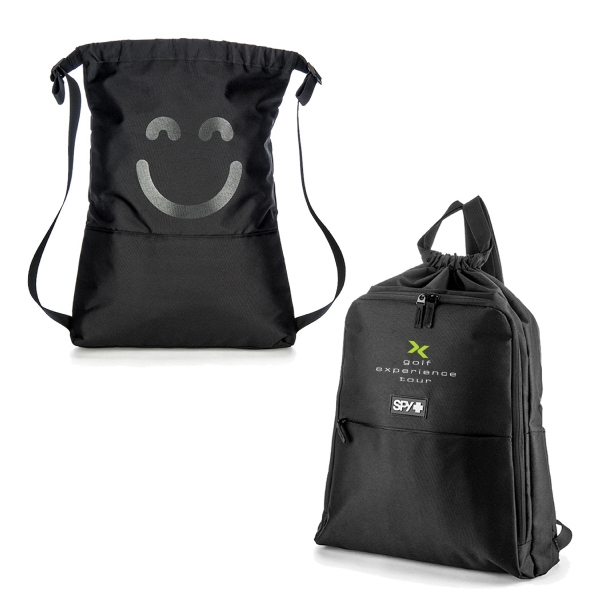 Item #B-7440 Cinch Closure Laptop Sportpack
