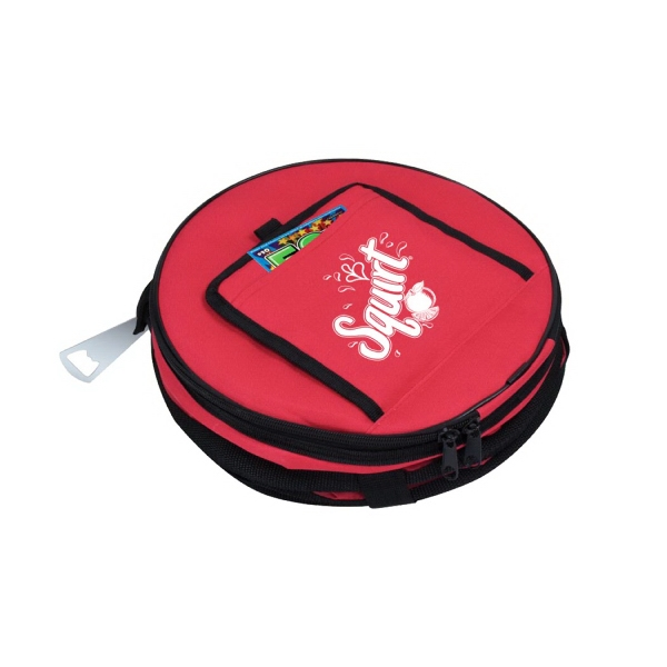 Item #B-8558 Poly Collapsible Cooler Bag
