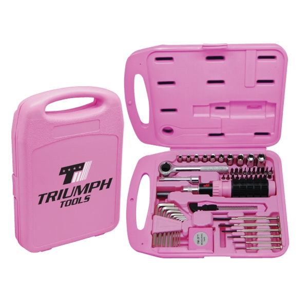 Item #TS850 The Handyman 55 pc Tool Set