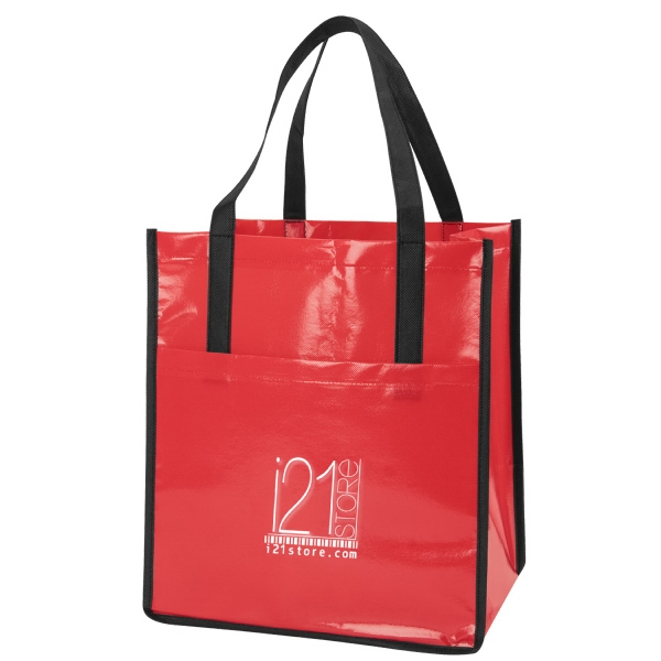 Item #B-7250 Non woven Laminated Tote Bag