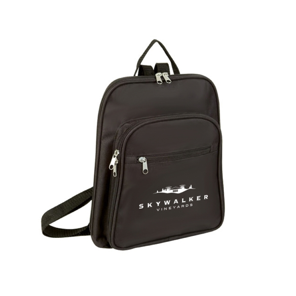 Item #B-5462 Small Poly Daypack Backpack