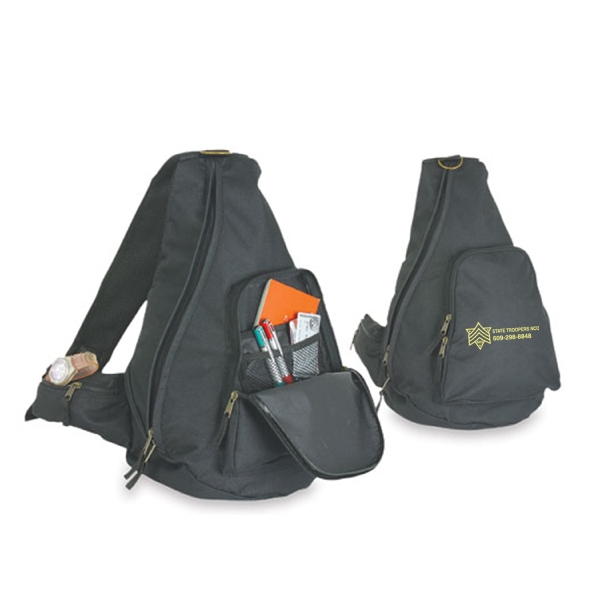 Item #B-5465 Sport Crossbody Sling Backpack