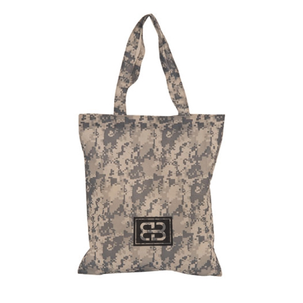 Item #B-5211 Digital Camo Non Woven Tote Bag