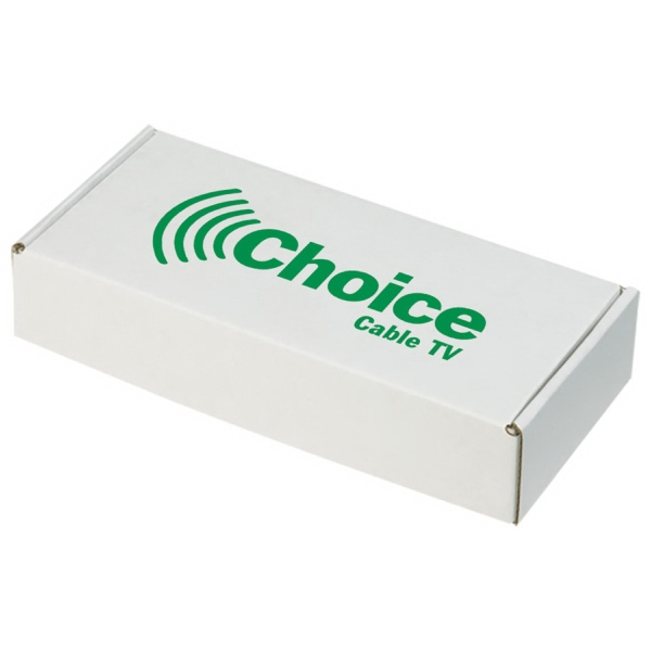 Item #BX-107 BOX Custom E-Flute Mailer Box - Retail Packaging