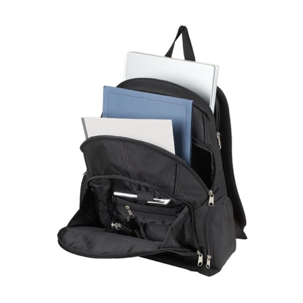 Item #B-5402 Tiered Padded Computer Backpack