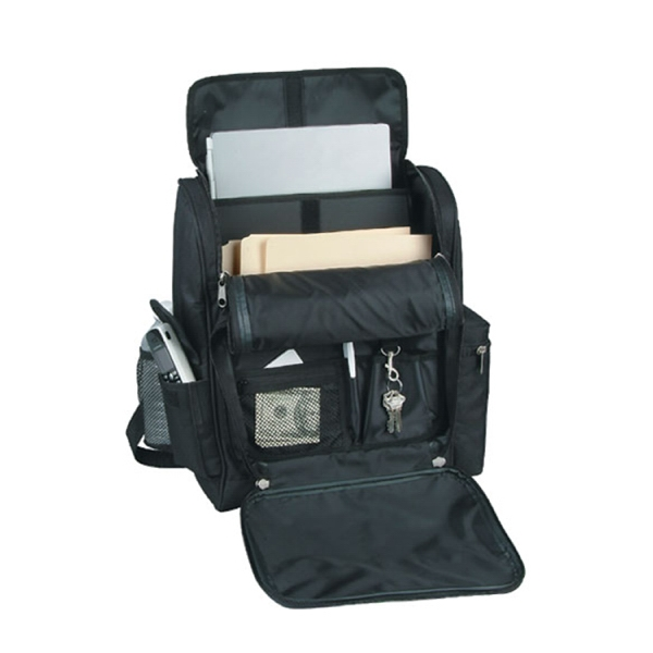 Item #B-5407 Deluxe Padded Computer Backpack Briefcase
