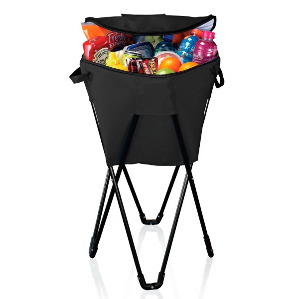 Item #CL033 INSULATED BEVERAGE COOLER TUB W/ STAND