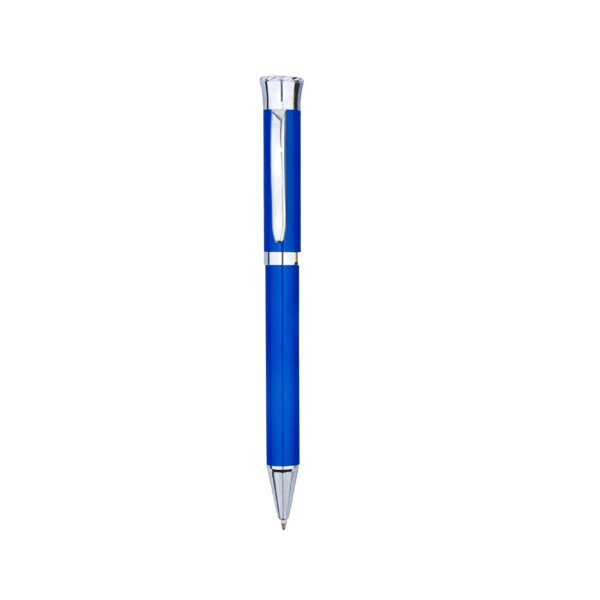 Item #8605 Portland Twist Action Metal Pen