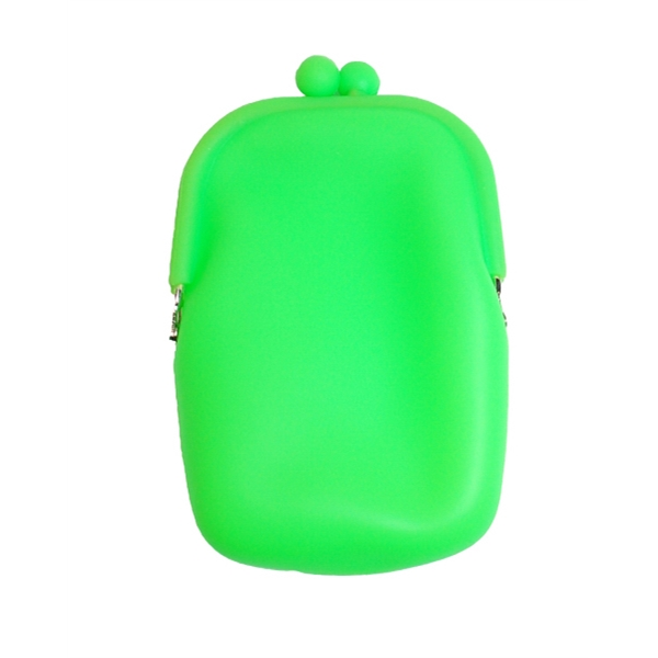 Item #PU002 Silicone Accessories Purse
