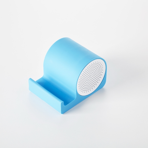 Item #RS2506 Silicone bluetooth speaker and phone stand