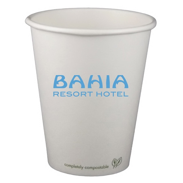 Item #3033-ECO-HS 8 oz. Eco-Friendly Paper Hot Cup - Offset Printed