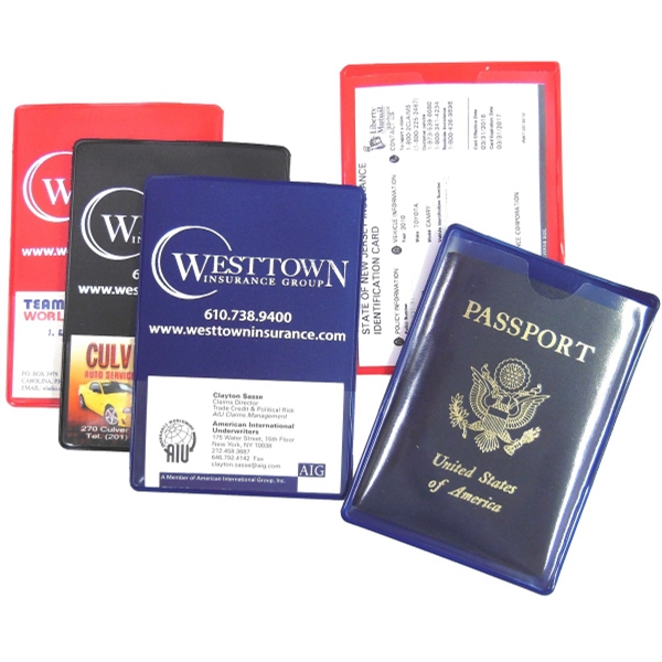 Insurancepassportpassbook sleeve with business card pocket insurancepassportpassbook sleeve with business card pocket colourmoves