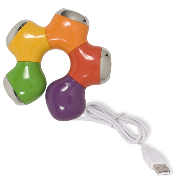 Item #PL-3502 Tangle (R) USB Hub