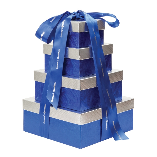 Item #663-D4 4 Tier Chocolate Lovers Gift Tower