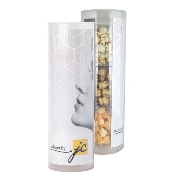 Item #3TUBE-POP 3 Piece Gift Tube with Popcorn