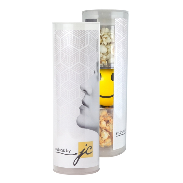 Item #3TUBE-SRP-E 3 Piece Gift Stress Relief Popcorn Tube