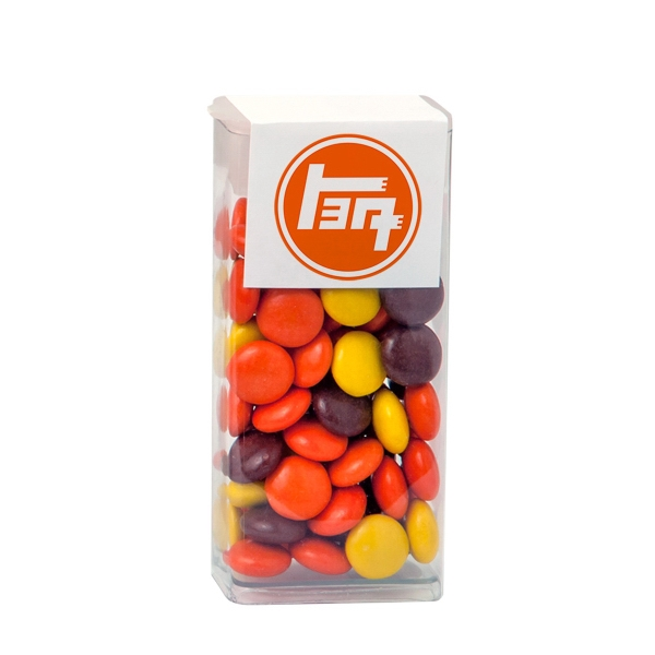 Item #FTT-REP Flip Top Tube with Reese's Pieces