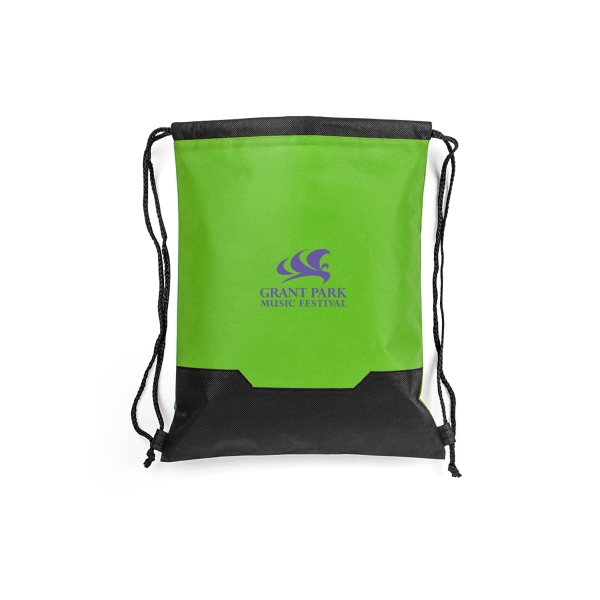 Item #B-7446 Non Woven ECO Drawstring Backpack