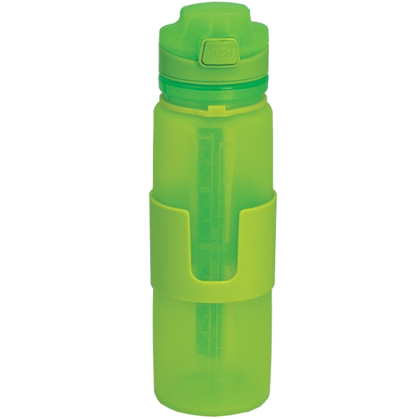Item #BT-027 Foldable Silicone Bottle